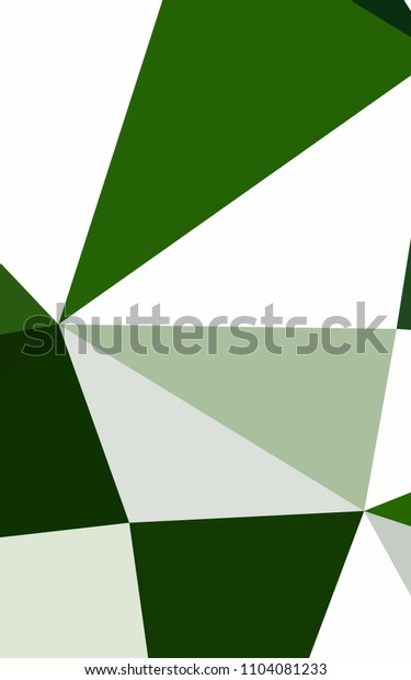 Light Green abstract mosaic pattern. Colorful illustration in abstract style with gradient. The textured pattern can be used for background.