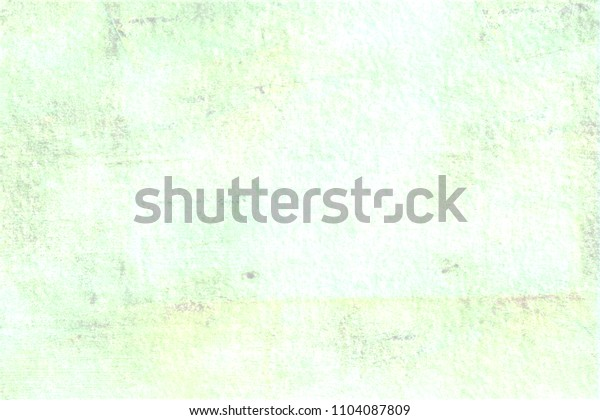 Light green old wall decoration.
