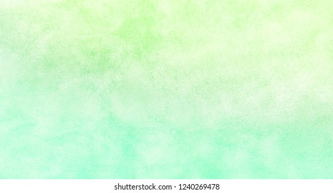 Light green shades watercolor background. Aquarelle paint paper textured canvas for text design, greeting card, template. Lime and chartreuse multicolor hand drawn illustration