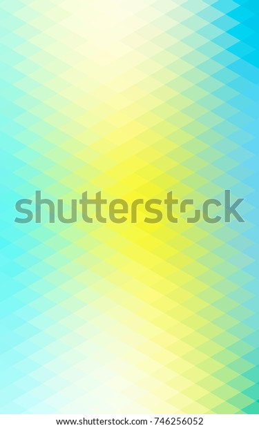 Light Green, Yellow abstract textured polygonal background. Blurry rectangular design. The pattern with repeating rectangles can be used for background.