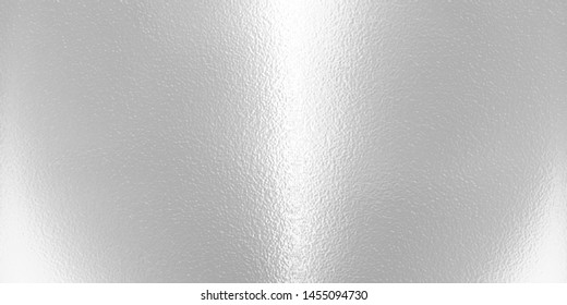 Light matte surface. Plastic glass. Frosted winter window glass. White gray gradient transparent background. Panoramic realistic illustration