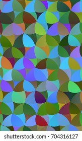 Light Multicolor, Rainbow illustration which consist of circles. Dotted gradient design for your business. Creative geometric background in halftone style with colored spots.