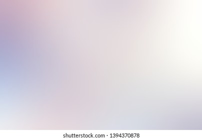 Light muted lilac blurred texture. Abstract transparent flare plain background. Formless interactive neutral pattern.