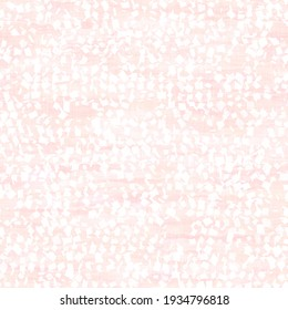 Light pale pastel tie dye confetti texture background. Washed out soft textured white seamless pattern. Delicate space dyed sprinkles blur effect all over print. For Wedding or party invititation