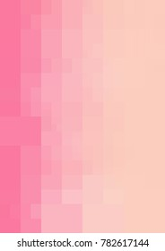 Light Pink Background rectangles and squares. Style Patchwork and Quilt. Geometric sample. Repeating routine with rectangle shapes.