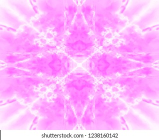 Light pink and white kaleidoscope star pattern
