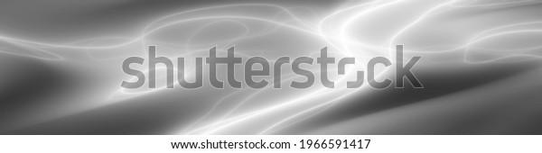 Light plasma energy art monochrome illustration banner background