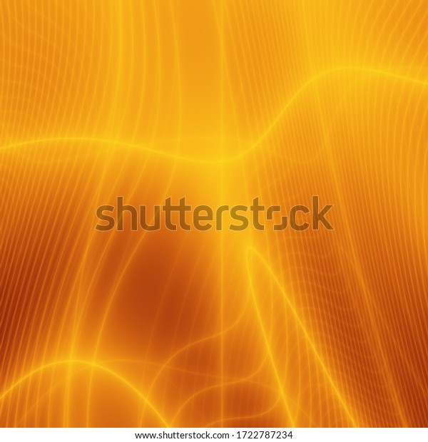Light plasma golden art abstract illustration background