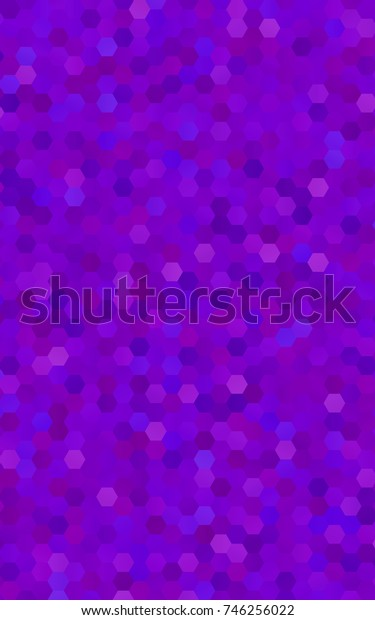 Light Purple abstract textured polygonal background. Brand-new blurry hexagonal design. Pattern can be used for background.