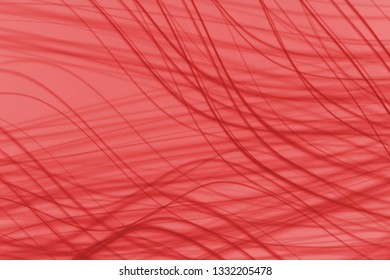 Light red beautiful curvy lines abstract background illustration design