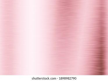 Light rose metal texture background