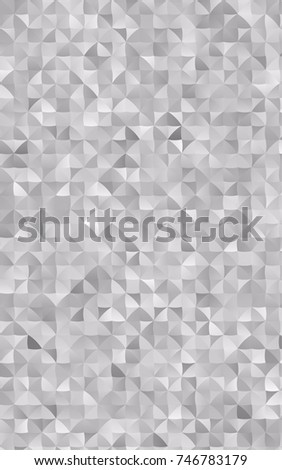 light silver gray abstract mosaic template stock illustration