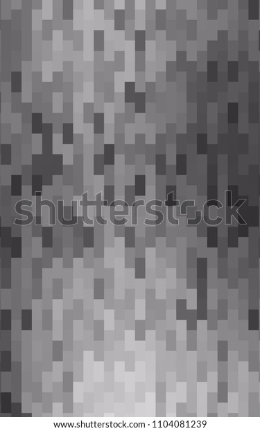 Light Silver, Gray vertical pattern. Brand-new rectangular template. Shining geometric sample. Repeating theme with rectangular shapes. Texture for your design.