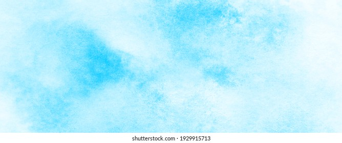 Light sky blue watercolor background