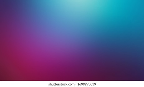 Light Teal, Pink and Dark Blue Defocused Blurred Motion Gradient Abstract Background Texture, Widescreen