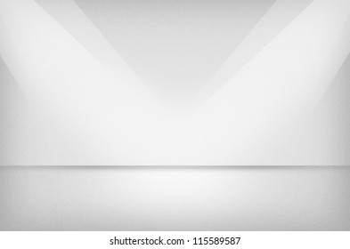 Light texture or background with spotlight