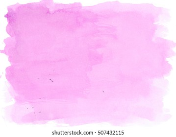 Light Violet watercolor background, luscious palette. Abstract canvas with paper texture.