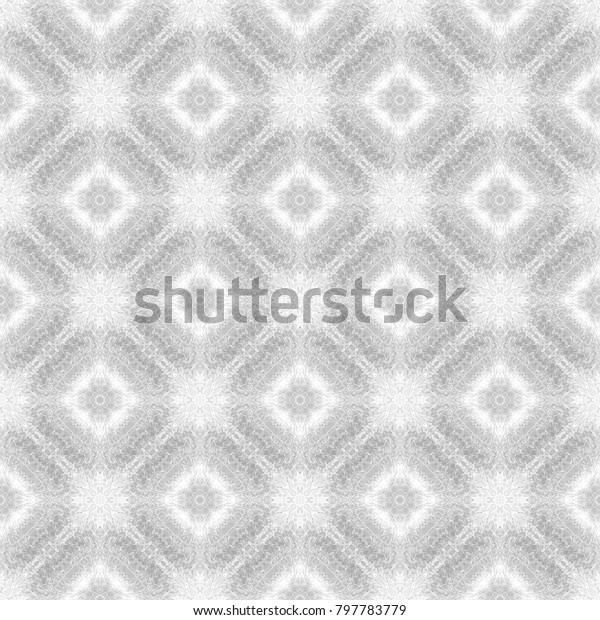 Light Whitegray Texture Fabric Print Geometric Stock Illustration