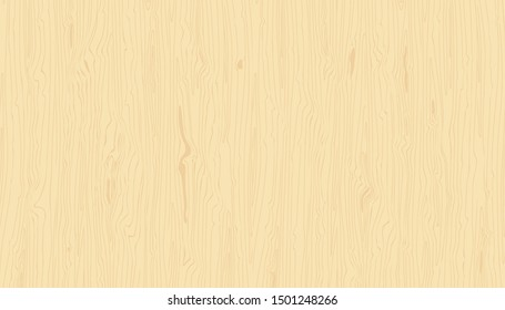 Light wood texture. Wooden background. Hand drawn natural grained backdrop. Raster version