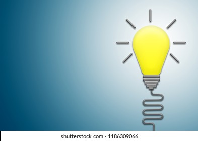 lightbulb creative thinking ideas to intelligent to genius symbol graphic design infographic for business strategy leadership working planing and student education study analysis problem resolve.