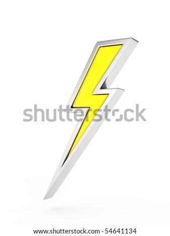 Lightning Bolt Symbol Stock Illustration 54641134 Shutterstock