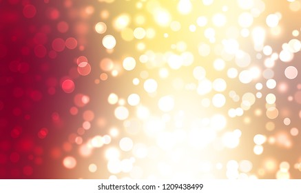Lights background. Abstract Bokeh wallpaper