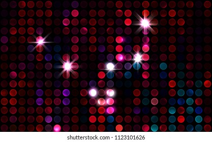 Lights Background Abstract Glamorous Fashion Backdrop Digital Illustration Of Stage Or Stadium Spotlights