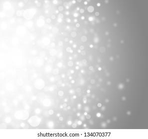 Lights on grey background.