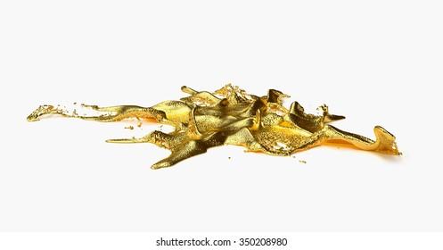 liguid gold splash