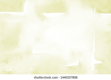 Lime green background with natural watercolor texture in trendy eco style for modern healthy food design, bio label, eco-friendly products, organic brand style, and web site/app screen backgrounds.