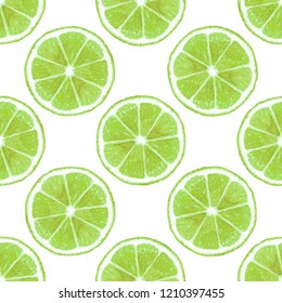 lime green background seamless pattern fruit ,diet food watercolor illustration modern background fresh citrus,summer design colorful wallpaper organic summer modern fashion seamless textile texture.