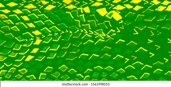 Lime Snake Skin Background. Apple Green Reptile Texture. Yellow Reptile Marker Texture.  Green Cobra Texture. Apple Green Snake Skin Print.