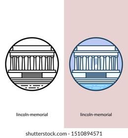 Lincoln-memorial - World top beautiful illustration