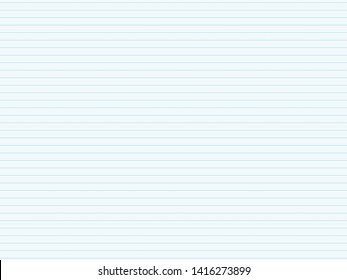 Line in the student notebook for use as a background.