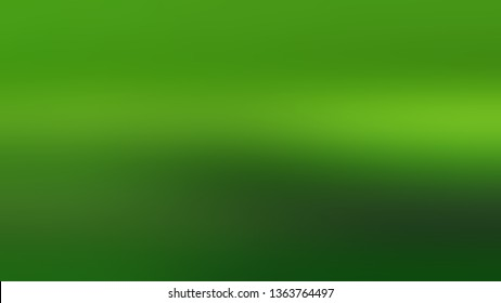 Linear gradient with Green color. Artistic and decorative blurred background with defocused image. Template for web page or site.