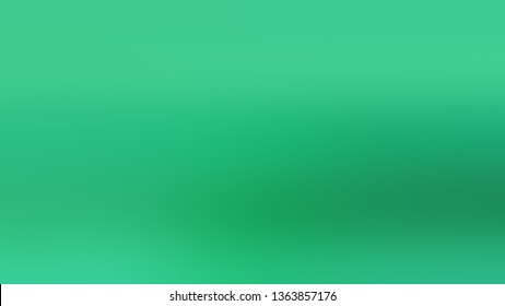 Linear gradient with Green color. Bizarre and bitmap background with color degradation. Model of blurred backdrop for banner or business presentation.