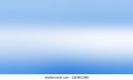 Linear gradient with Light Blue, Pale Blue color. Simplicity and purity. Blurred background without focus. Blank space for text and advertising.