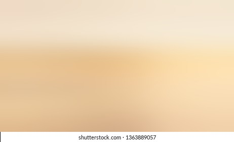 Linear gradient with Light Yellow, Beige color. Beautiful raster blurred background with smooth color degradation. Template for magazine or scrapbook cover.