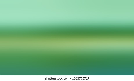 Linear gradient with Turquoise Green, Green color. Simplicity and purity. Blurred background with abstract style. Wallpaper on the desktop screen.