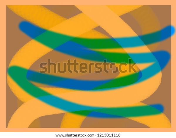 Lines Form Drawing Abstract Shapes Stock Illustration 1213011118