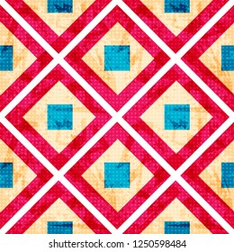 lines and polygons. delicate abstract geometric seamless pattern illustration