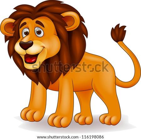 lion cartoonのイラスト素材 116198086 shutterstock