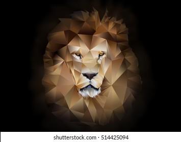 Geometric lion images stock photos vectors shutterstock