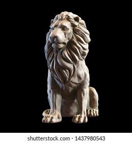 LION SCULPTURE / Digital 3D