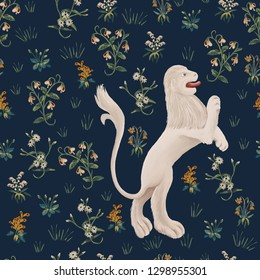 Lion Wallpaper Images Stock Photos Vectors Shutterstock