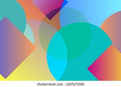 Liquid color background design. Fluid futuristic design posters. Trendy gradient shapes composition. JPEG illustration