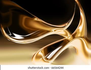 liquid gold background