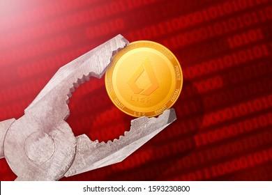 Lisk regulation, control; lisk LSK coin is under pressure