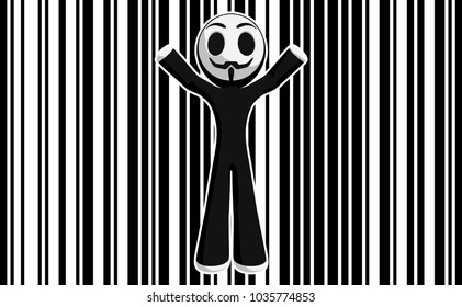 Little Anarchist Bar Code