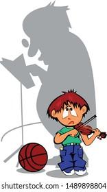 Violin Teacher Images, Stock Photos & Vectors | Shutterstock